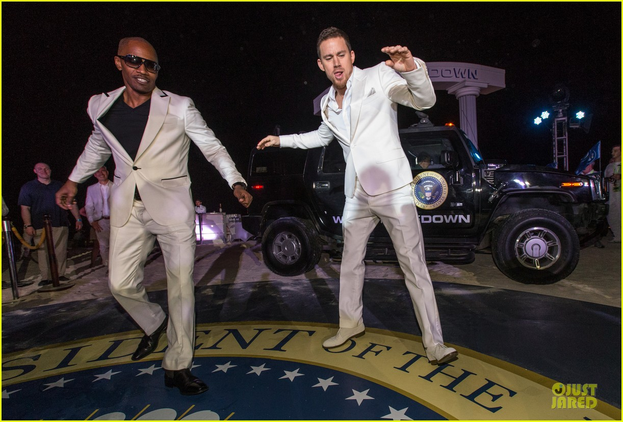channing tatum jame foxx white house down mexico photo call 162854026