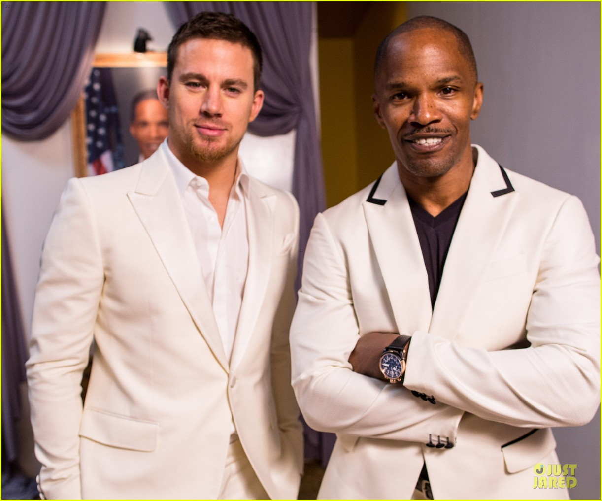 channing tatum jame foxx white house down mexico photo call 17