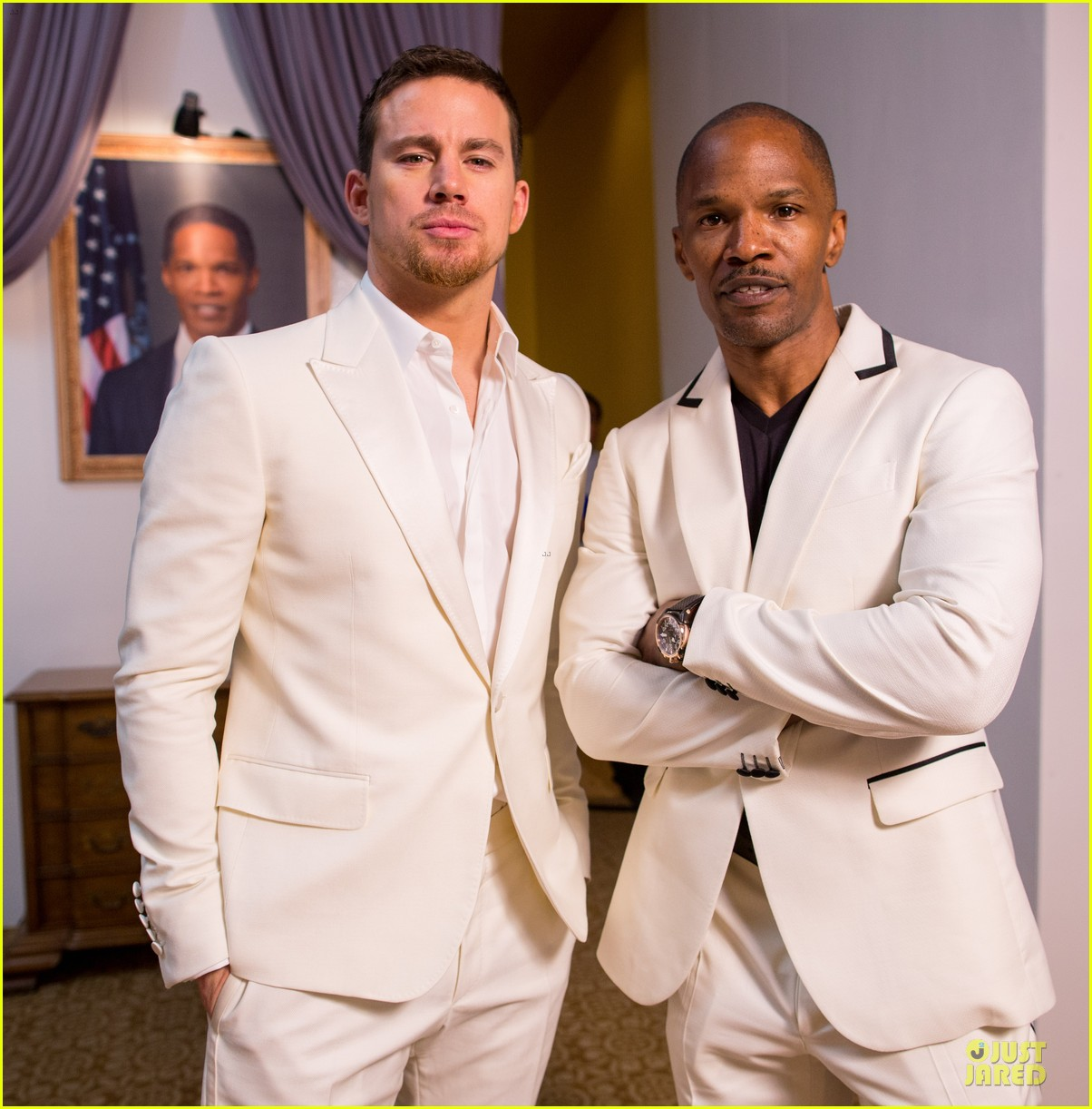 channing tatum jame foxx white house down mexico photo call 202854030