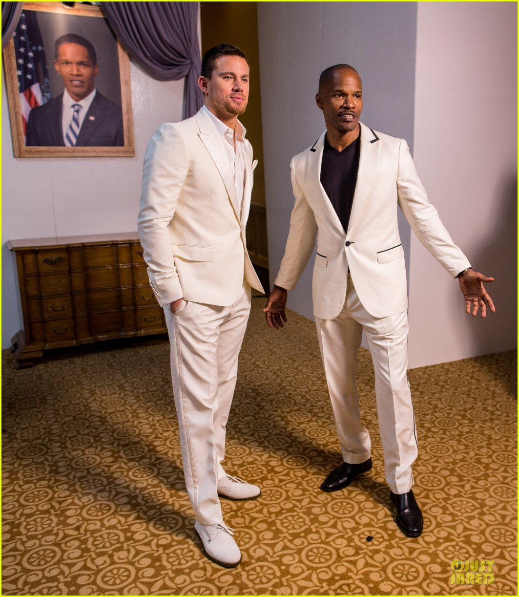 channing tatum jame foxx white house down mexico photo call 23