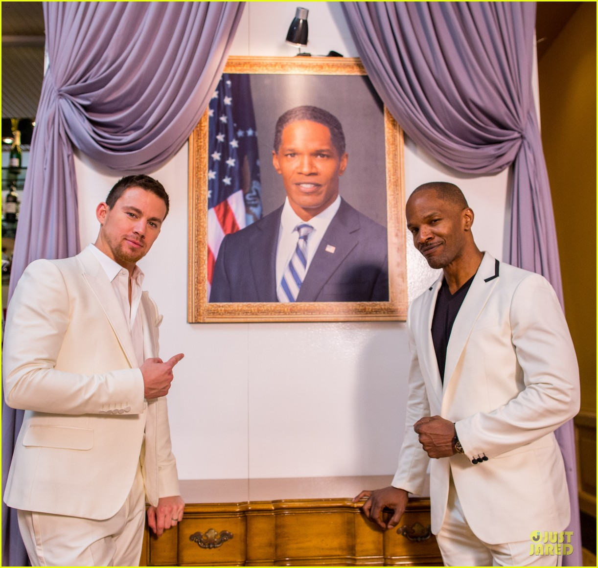 channing tatum jame foxx white house down mexico photo call 252854035