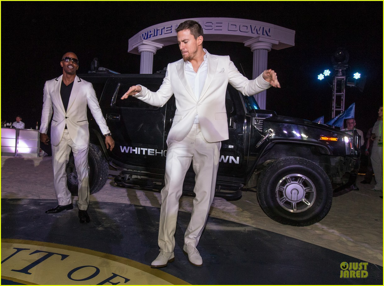 channing tatum jame foxx white house down mexico photo call 292854039