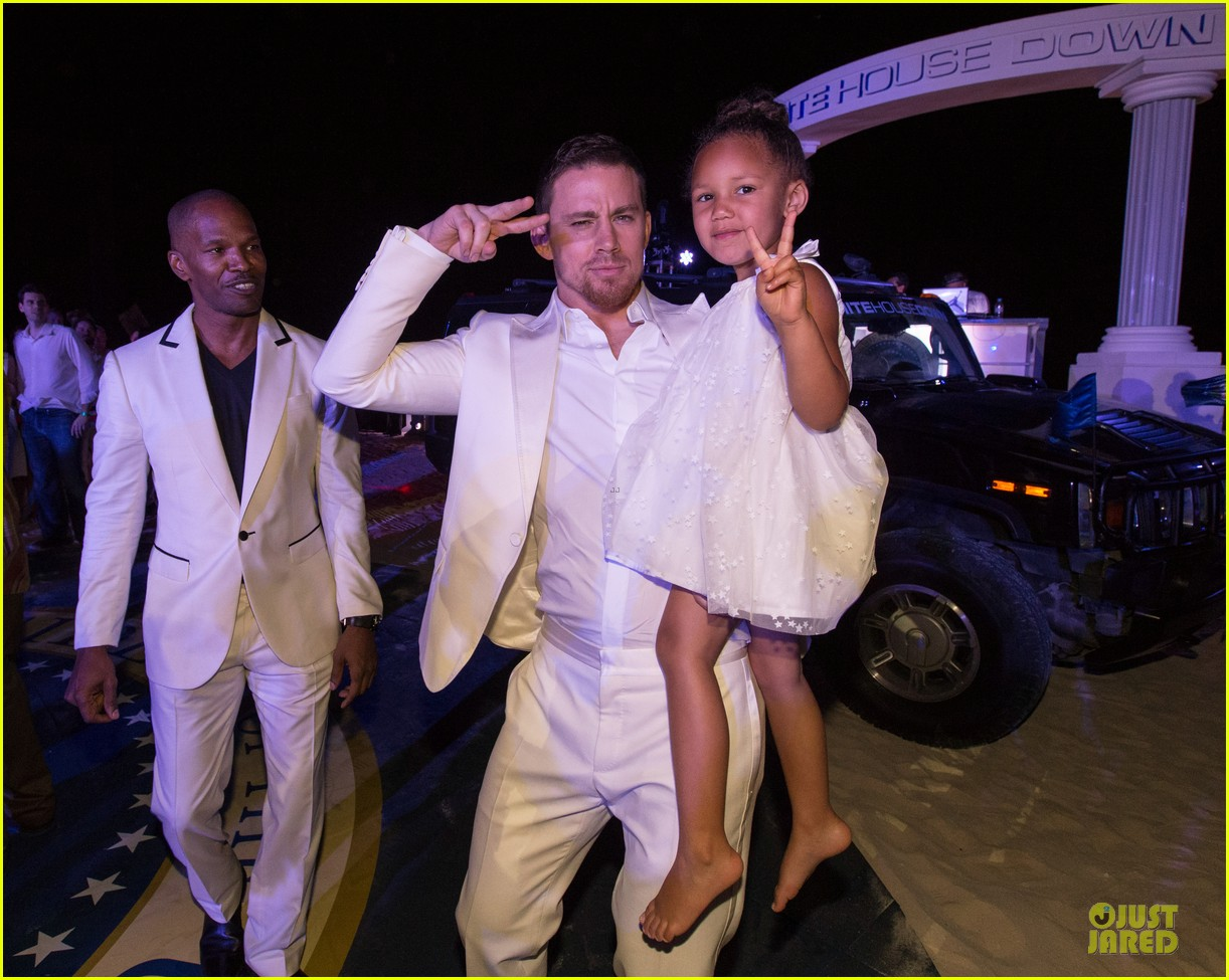 channing tatum jame foxx white house down mexico photo call 312854041
