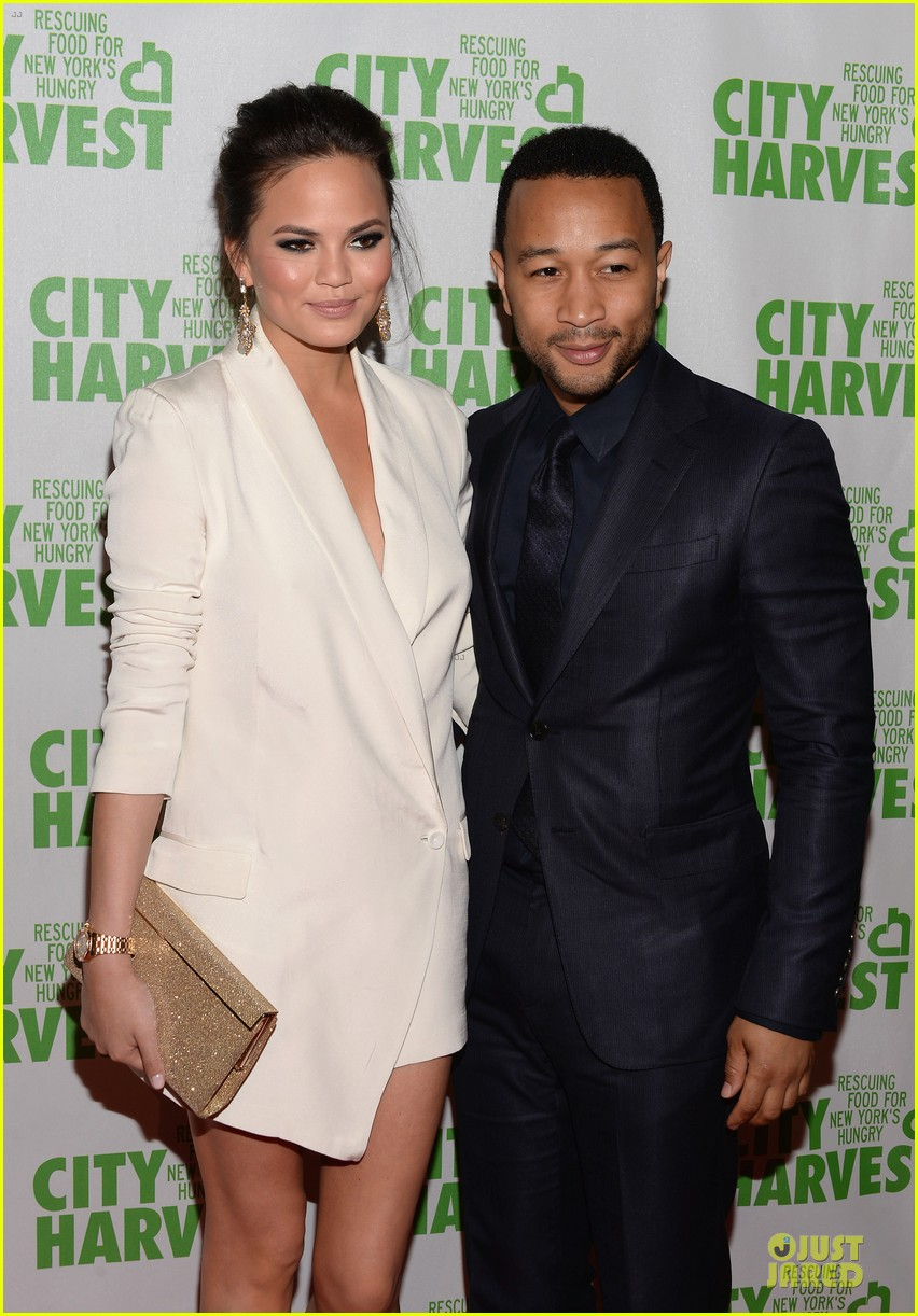 chrissy teigen john legend city harvest couple 022851631