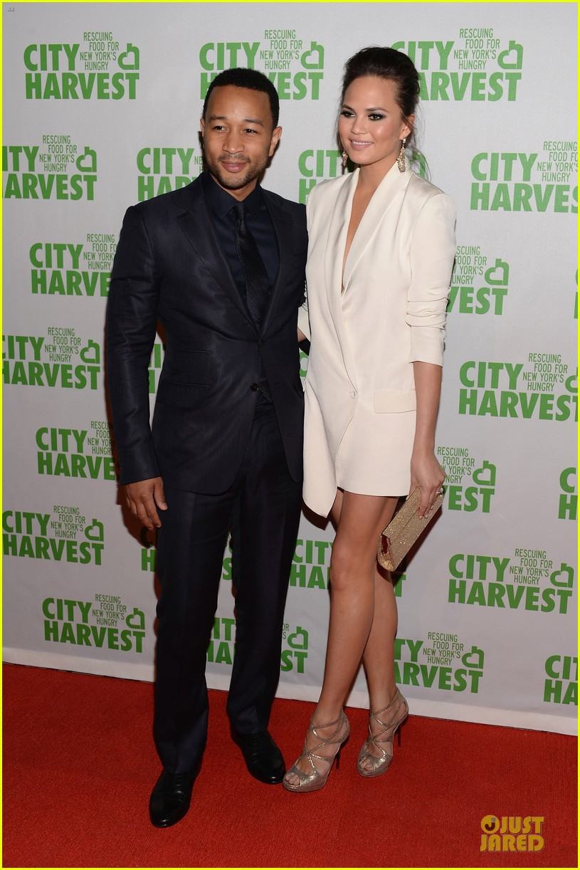 chrissy teigen john legend city harvest couple 072851636