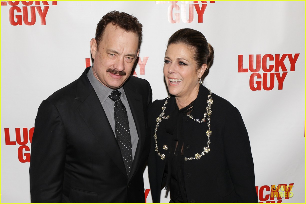 chrissy teigen tom hanks lucky guy broadway opening night 202841846