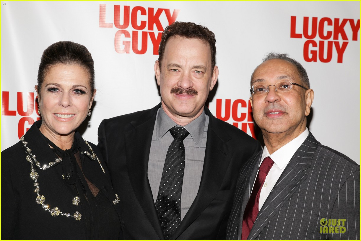 chrissy teigen tom hanks lucky guy broadway opening night 282841854