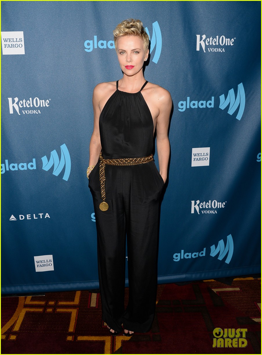 charlize theron glaad media awards 2013 red carpet 052854464