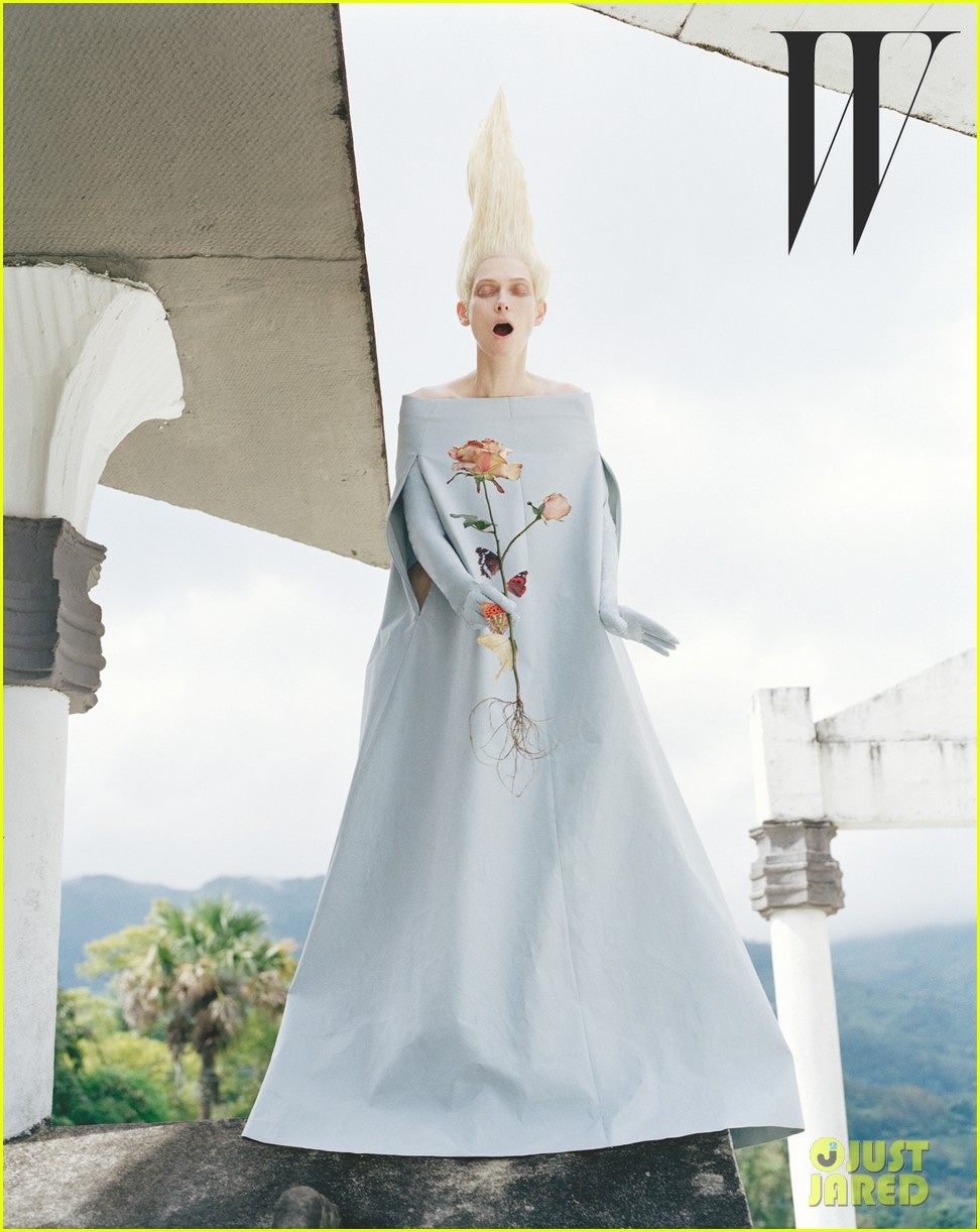 tilda swinton centipede covered for w magazine may 2013