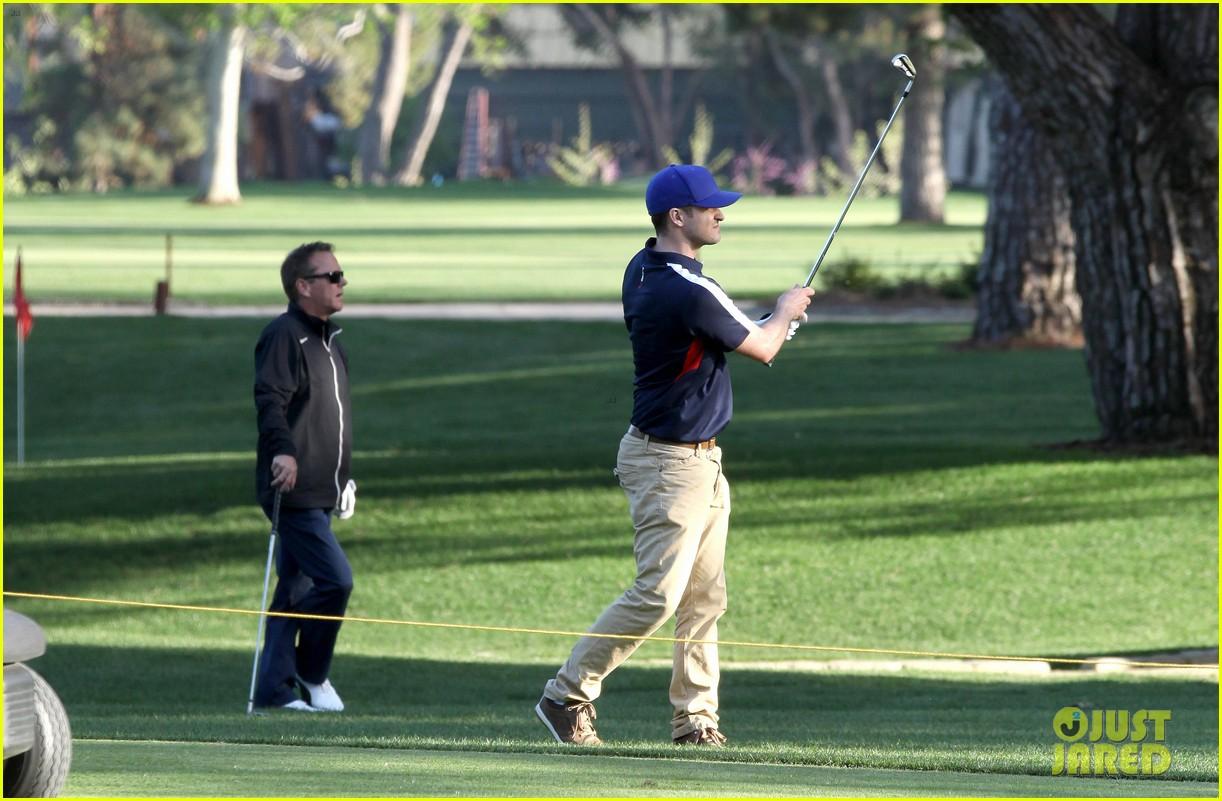 justin timberlake plays golf after jamie lynn spears tweet 132844647