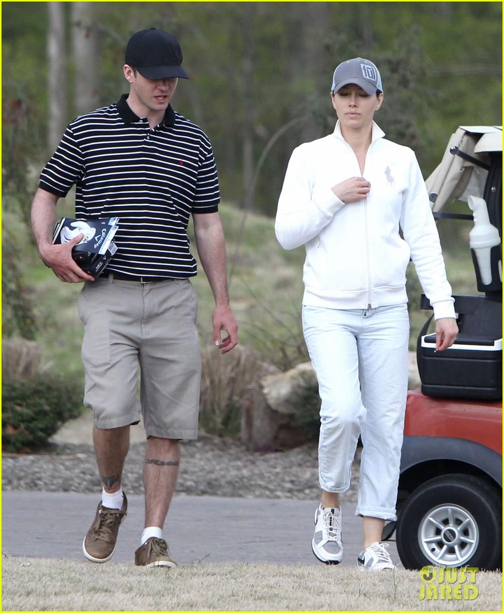 justin timberlake jessica biel golf date duo 03