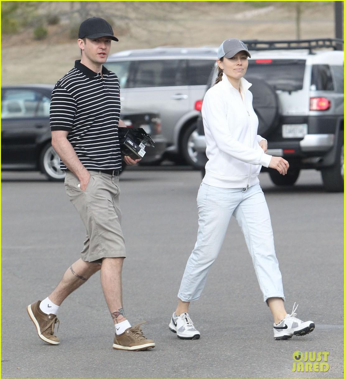 justin timberlake jessica biel golf date duo 13
