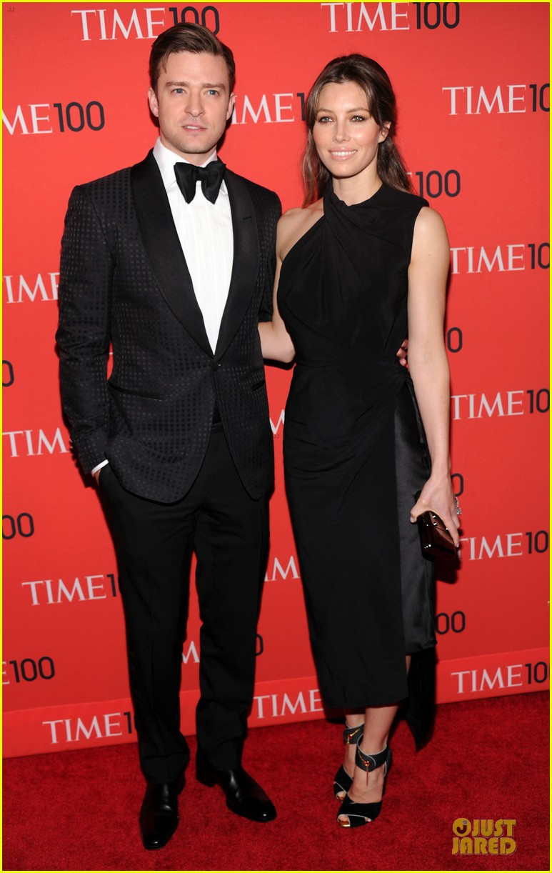 justin timberlake jessica biel time 100 gala 2013 red carpet 012856832