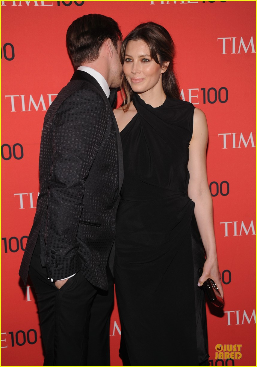 justin timberlake jessica biel time 100 gala 2013 red carpet 042856835
