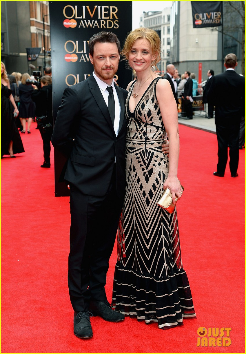 Tom Hiddleston & James McAvoy - Olivier Awards 2013 Red ...