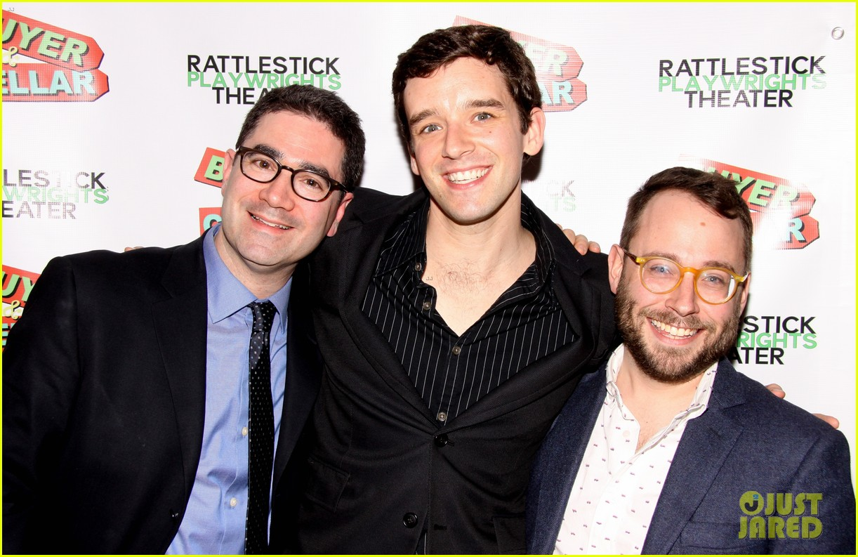 michael urie buyer cellar off broadway opening night 05