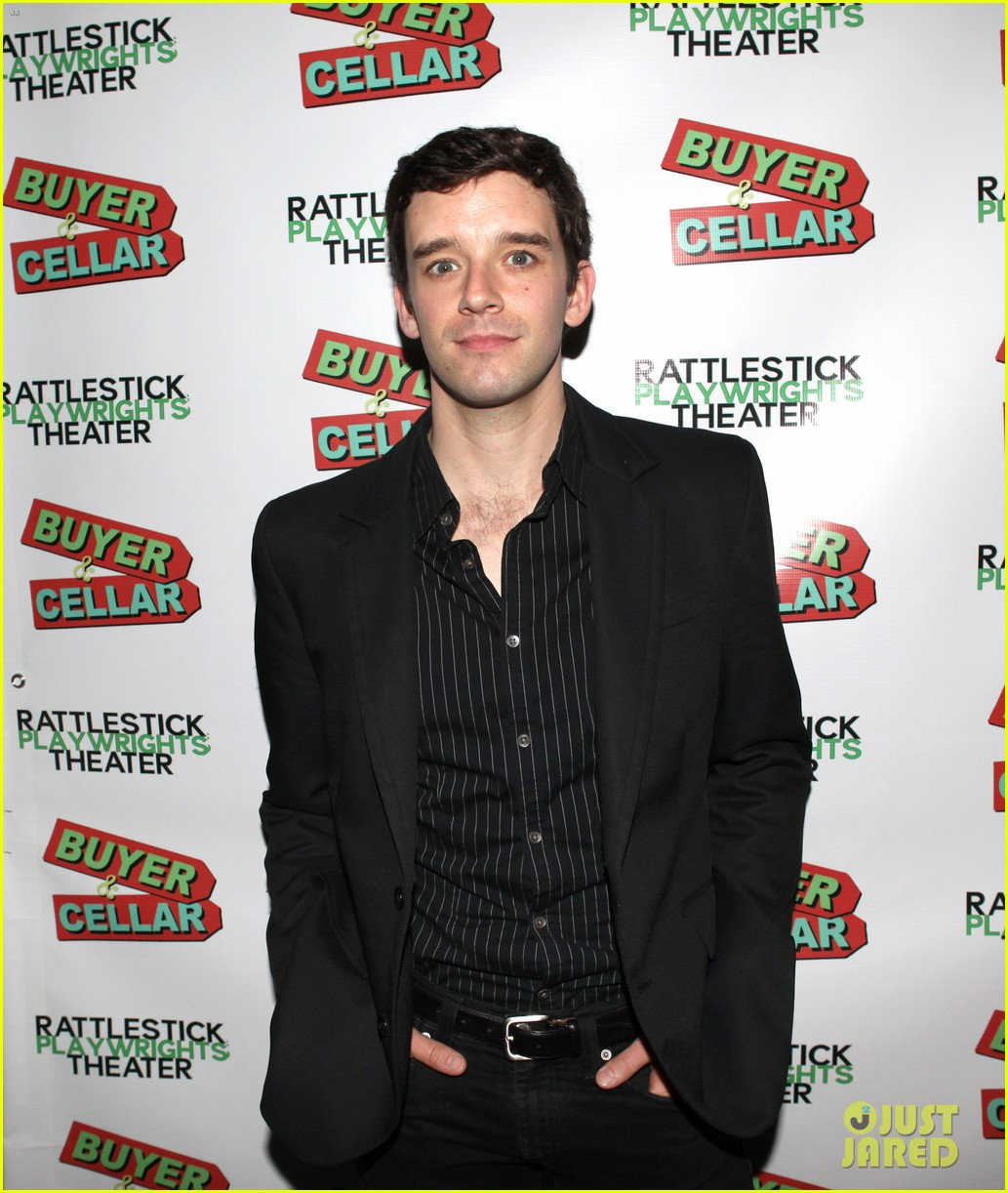 michael urie buyer cellar off broadway opening night 07