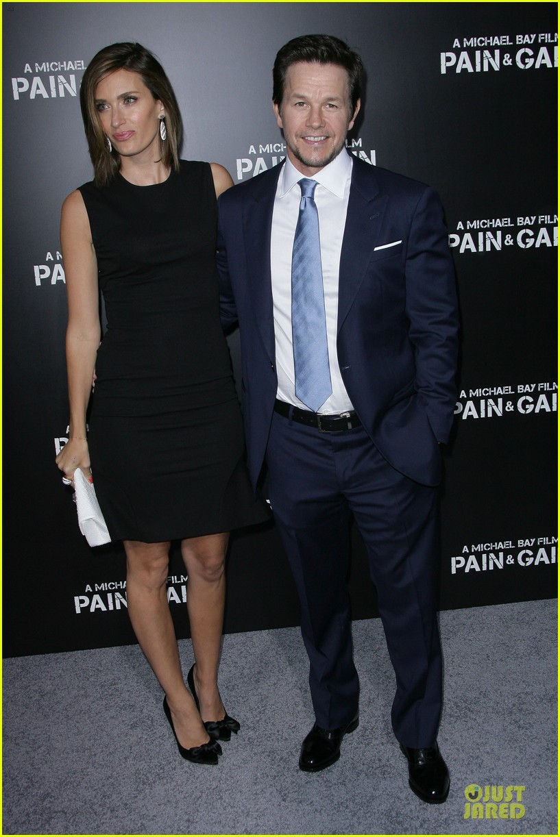 mark wahlberg rhea durham pain gain hollywood premiere 012856202