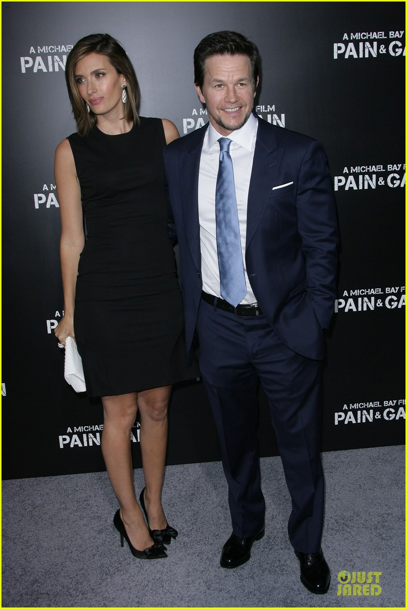 mark wahlberg rhea durham pain gain hollywood premiere 192856220