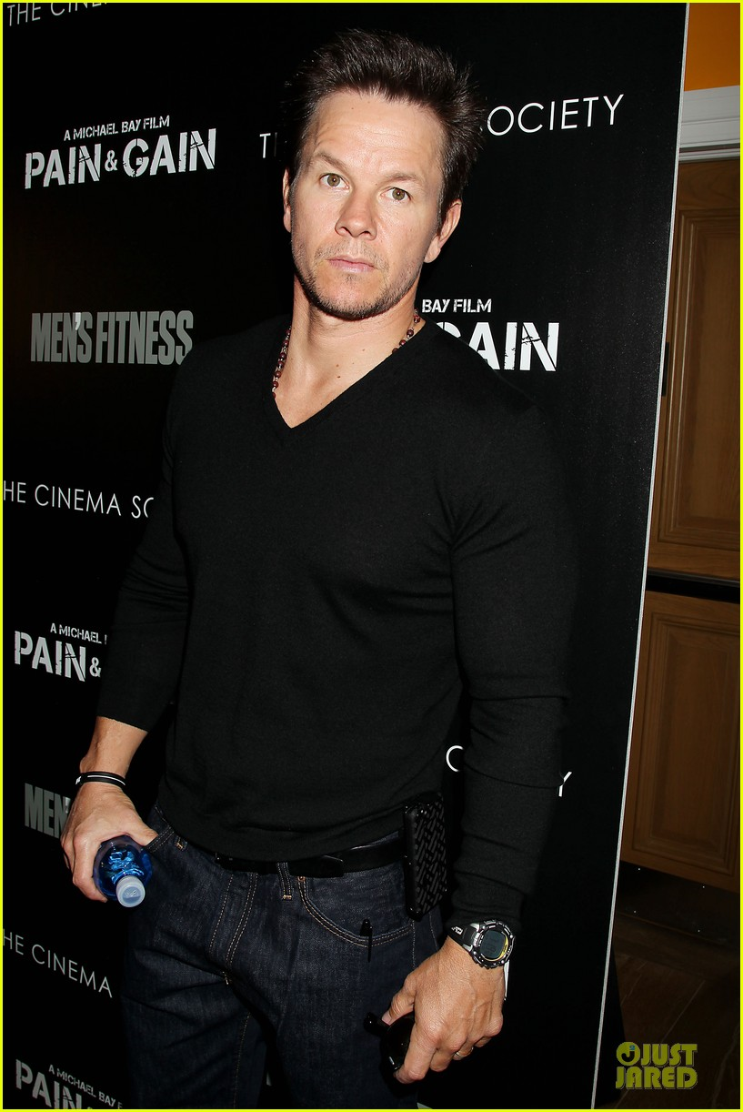 mark wahlberg peter facinelli pain and gain nyc screening 022850998