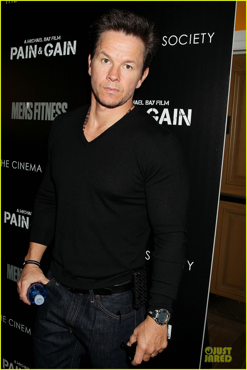 mark wahlberg peter facinelli pain and gain nyc screening 062851002
