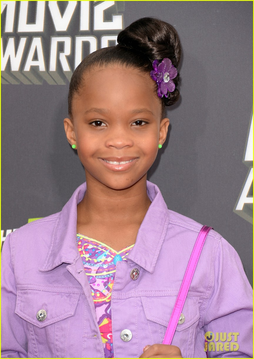quvenzhane wallis mtv movie awards 2013 red carpet 032849956