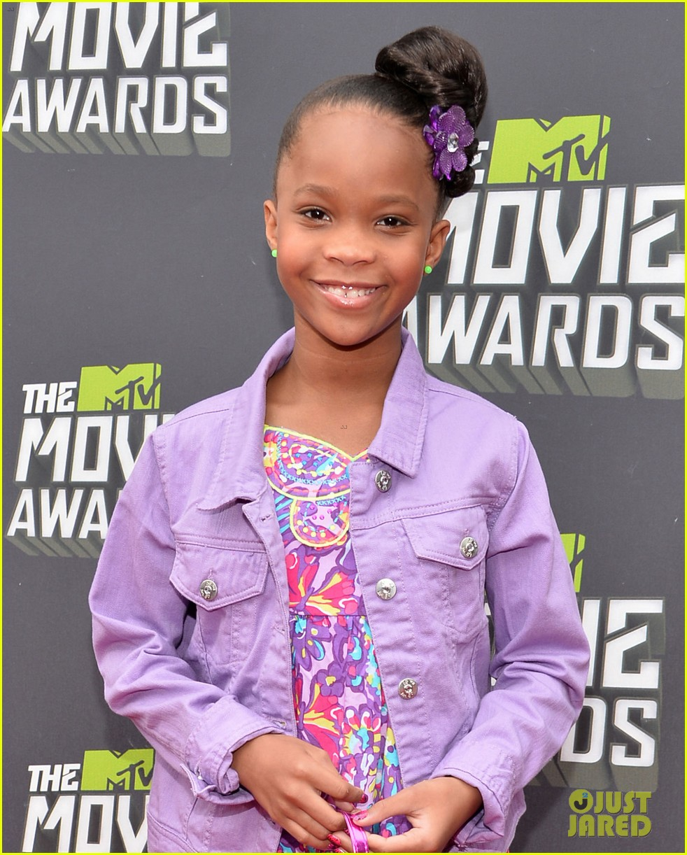 quvenzhane wallis mtv movie awards 2013 red carpet 052849958