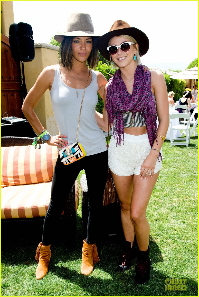 ed westwick jessica szohr just jared armani exchange music festival brunch 012848967