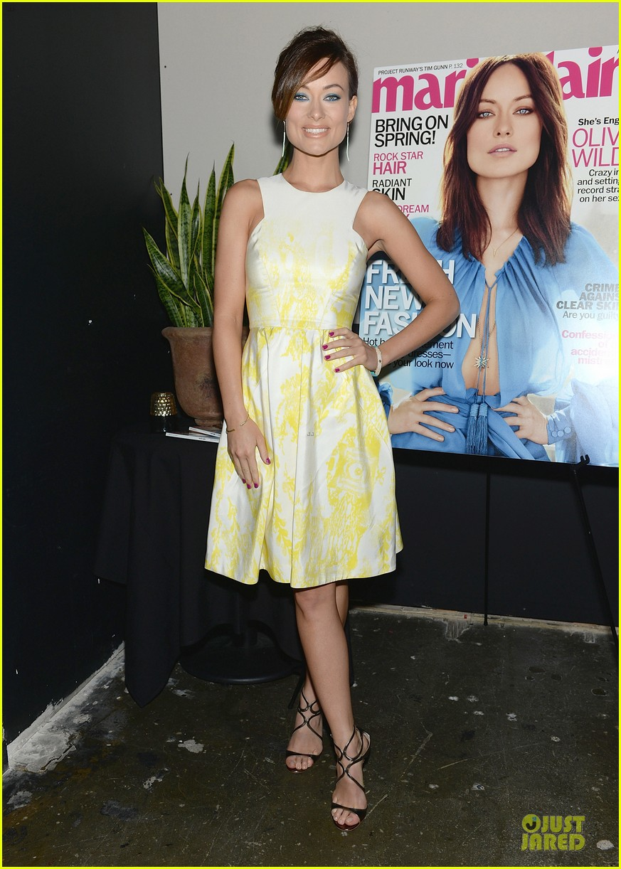 olivia wilde marie claire april cover party 01