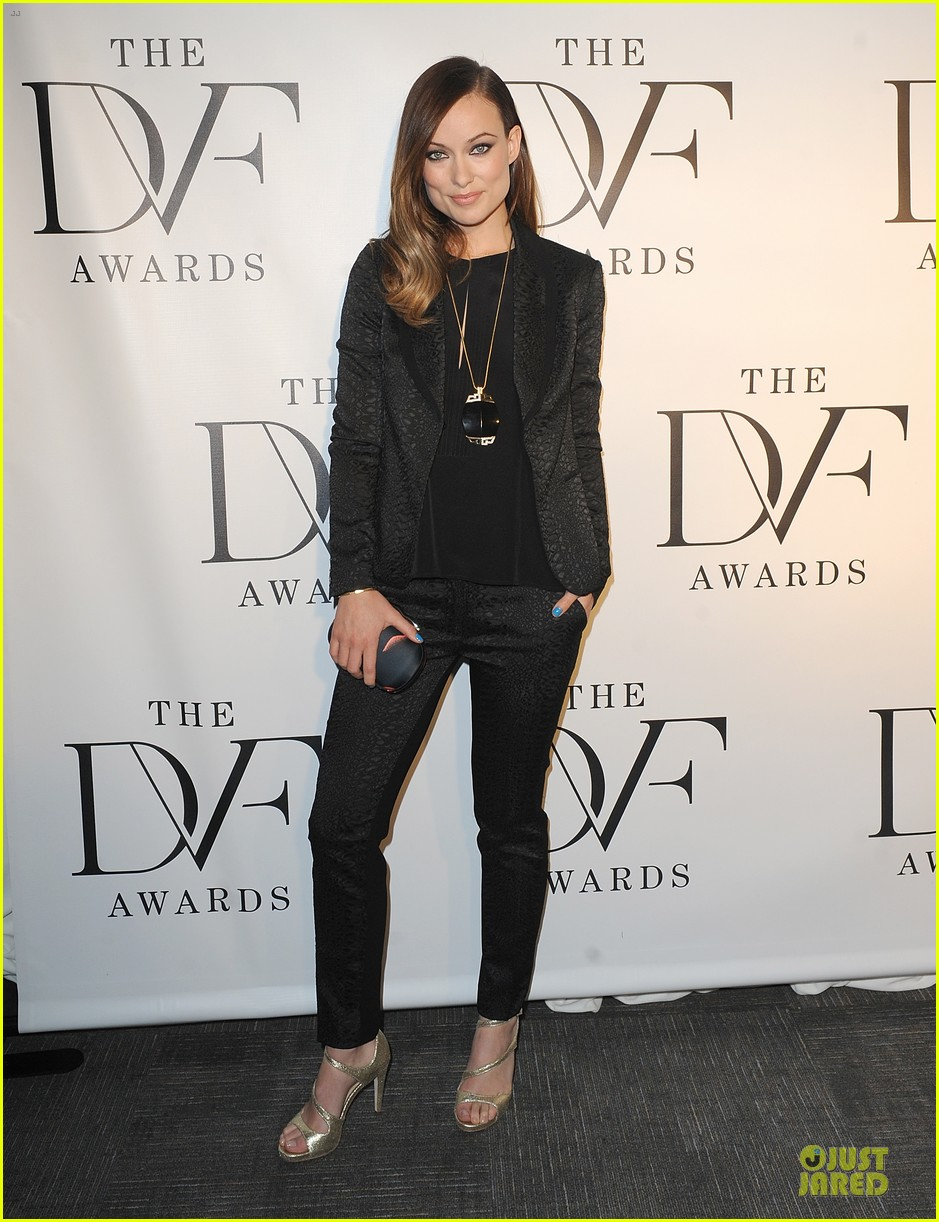 olivia wilde dvf awards with gabby douglas 012843992