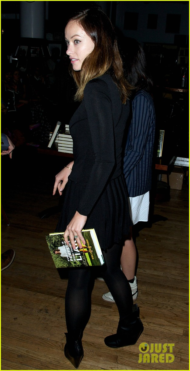 olivia wilde jason sudeikis everything is perfect book launch 062841996