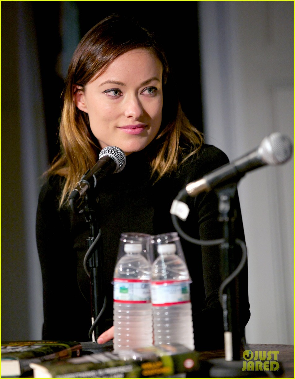 olivia wilde jason sudeikis everything is perfect book launch 102842000