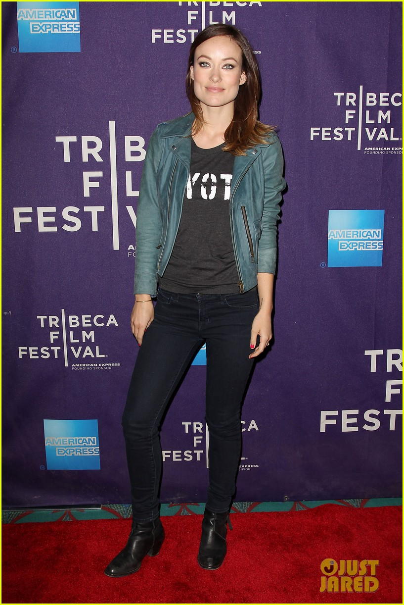 olivia wilde rider and the storm screening at tribeca 012855837