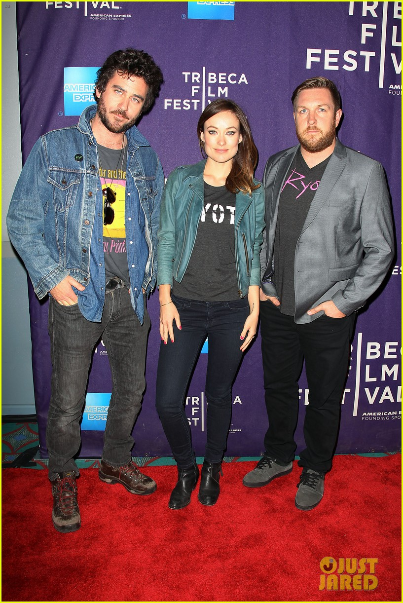 olivia wilde rider and the storm screening at tribeca 032855839