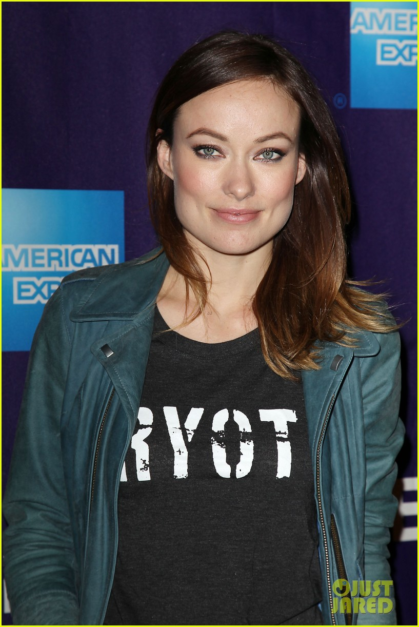 olivia wilde rider and the storm screening at tribeca 182855854
