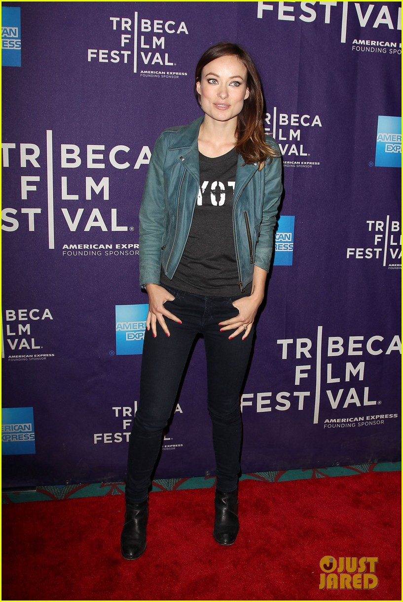 olivia wilde rider and the storm screening at tribeca 252855861