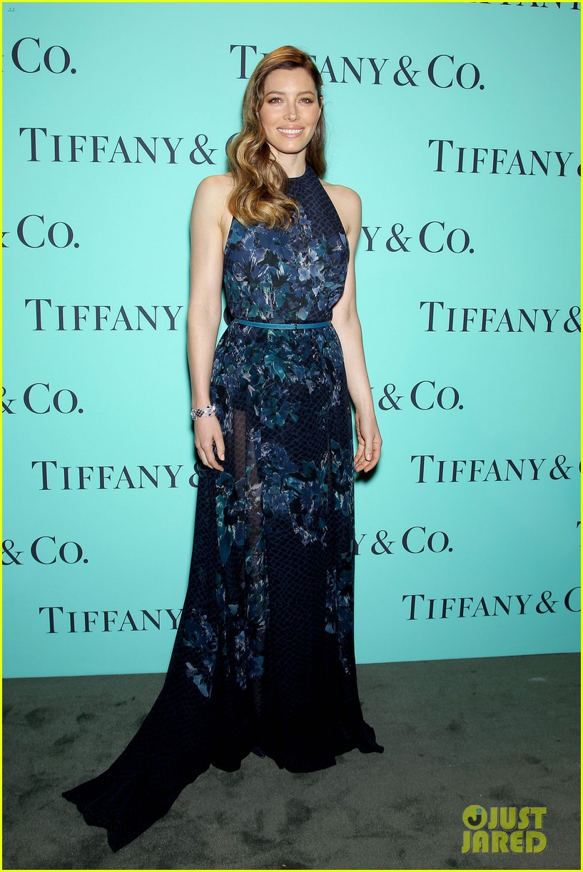 michelle williams jessica biel tiffany blue book gala 13
