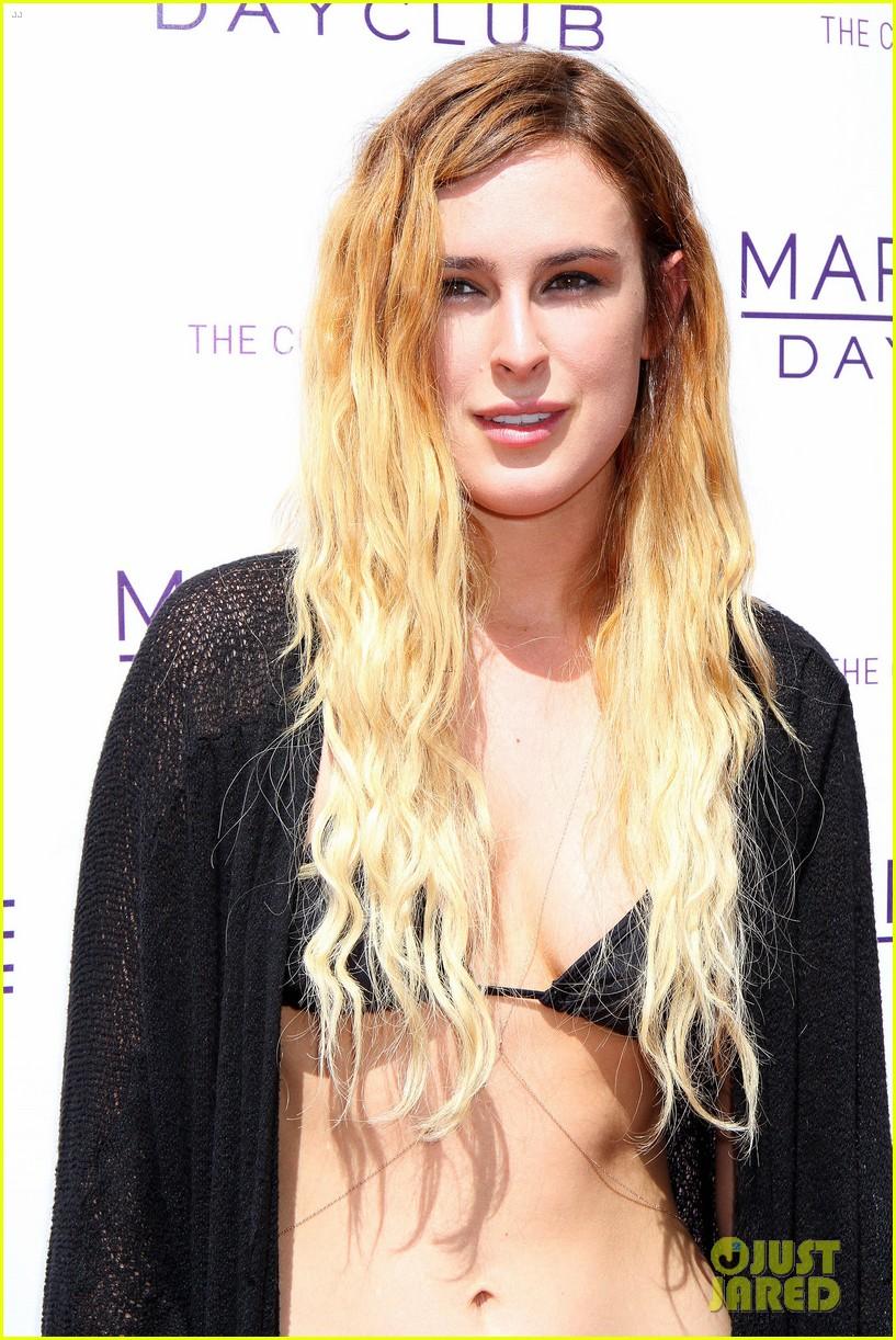 rumer willis bikini babe at marquee with jayson blair 072844592