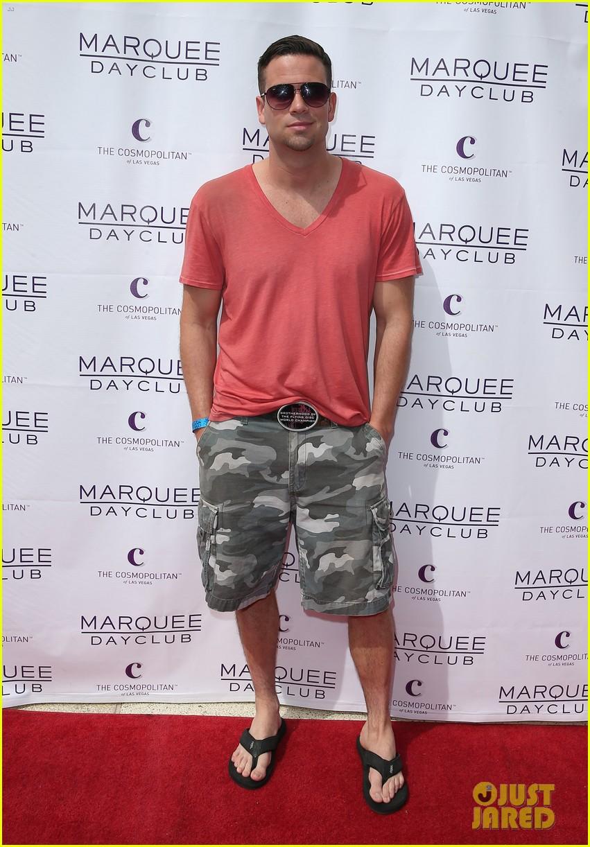 rumer willis bikini babe at marquee with jayson blair 12