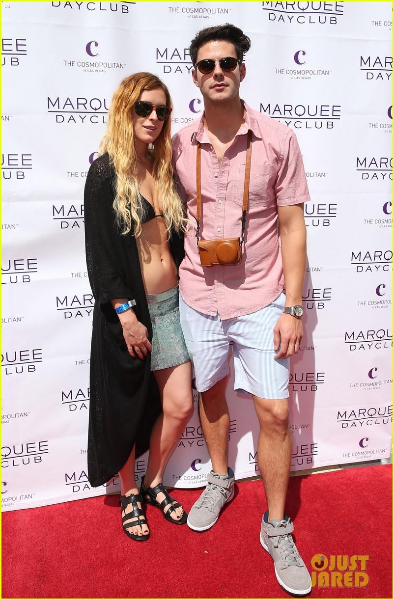 rumer willis bikini babe at marquee with jayson blair 152844600