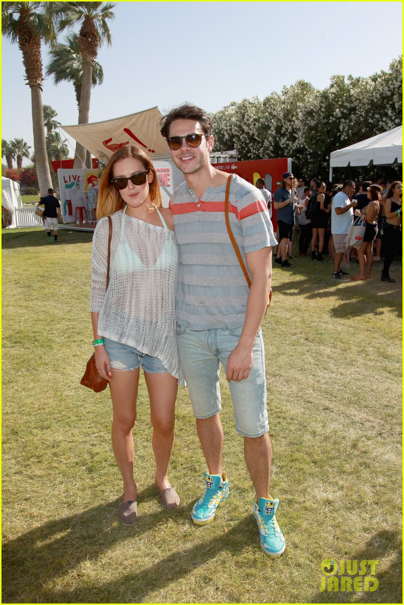 rumer willis lacoste lve pool party with jayson blair 042850466