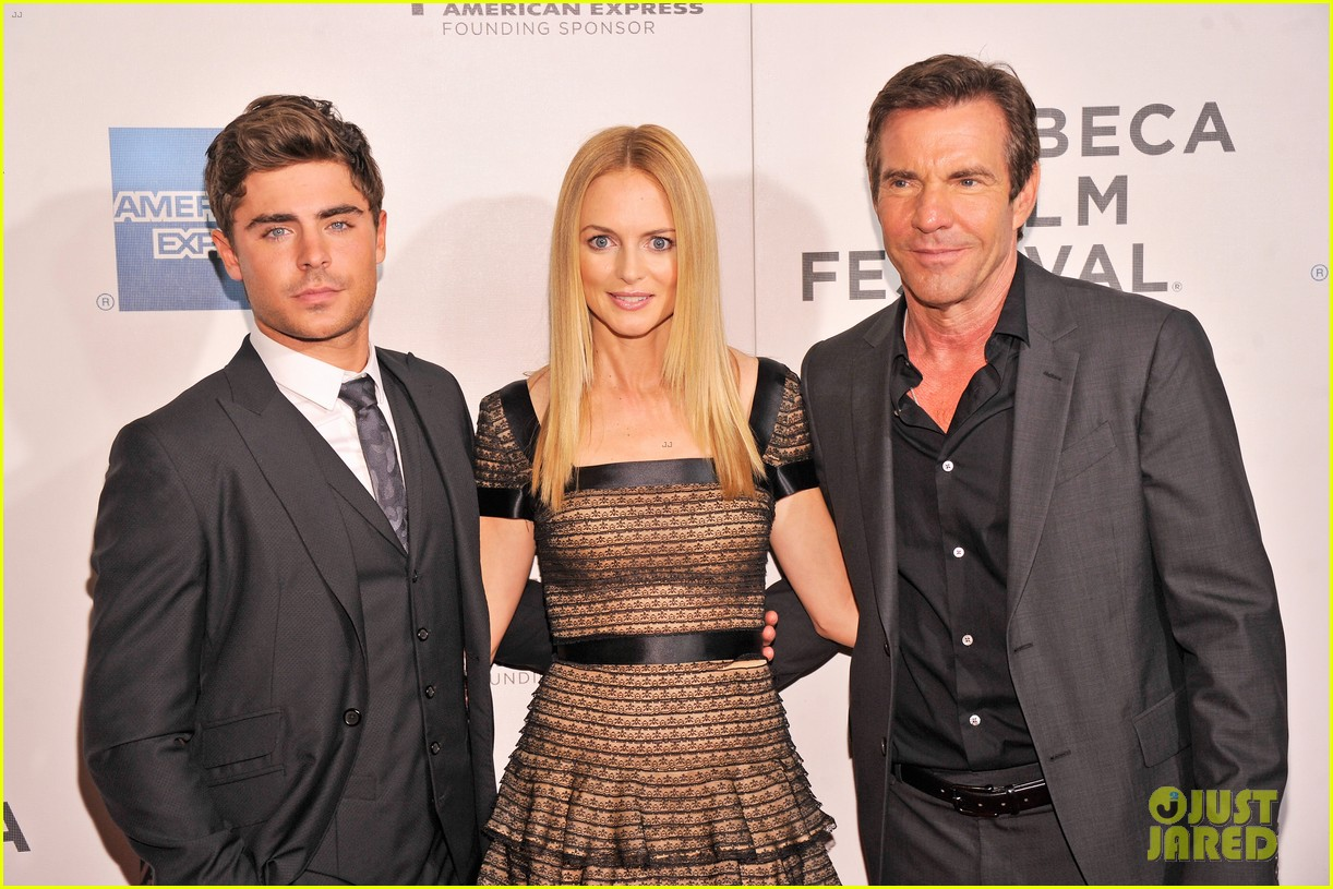 zac efron heather graham at any price premiere 182853849