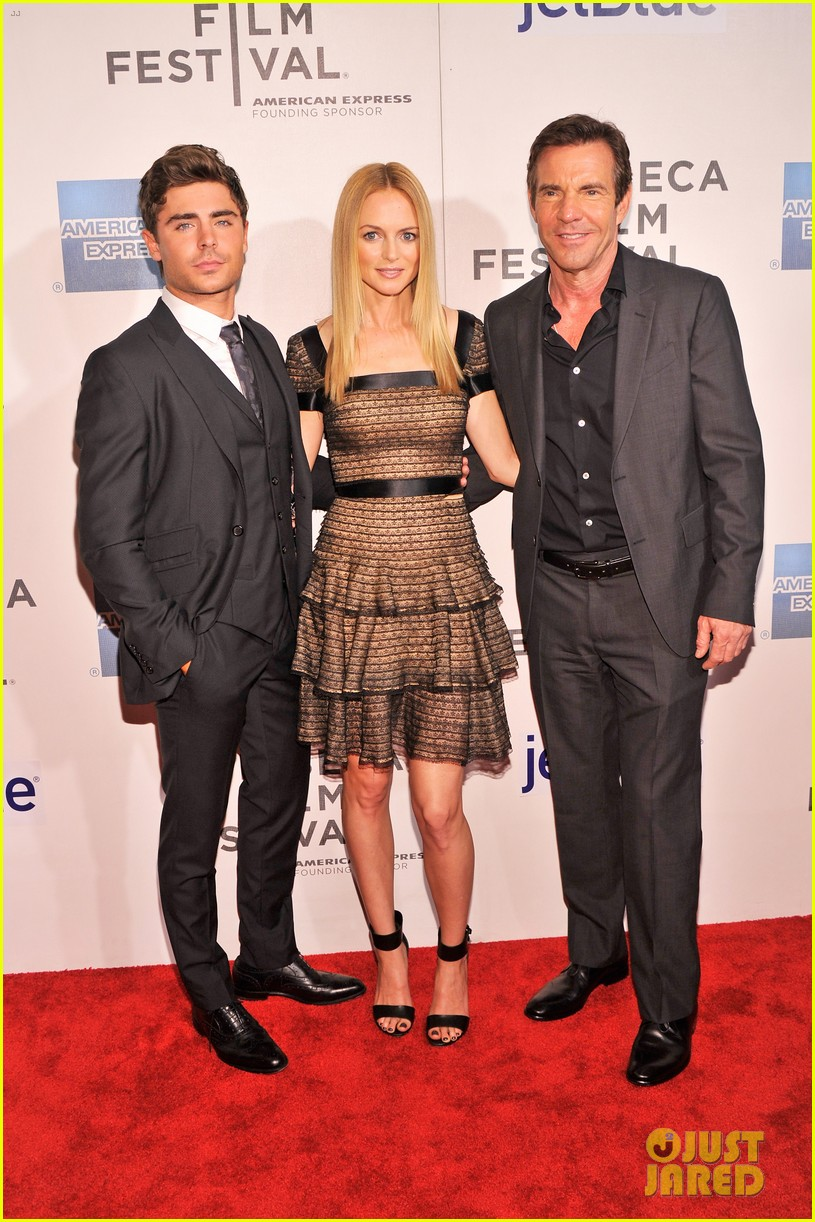 zac efron heather graham at any price premiere 202853851