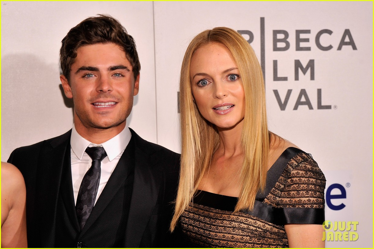 zac efron heather graham at any price premiere 262853857