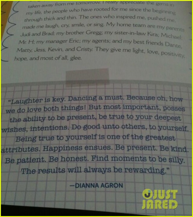 dianna agron proud of jenna ushkowitz book 04