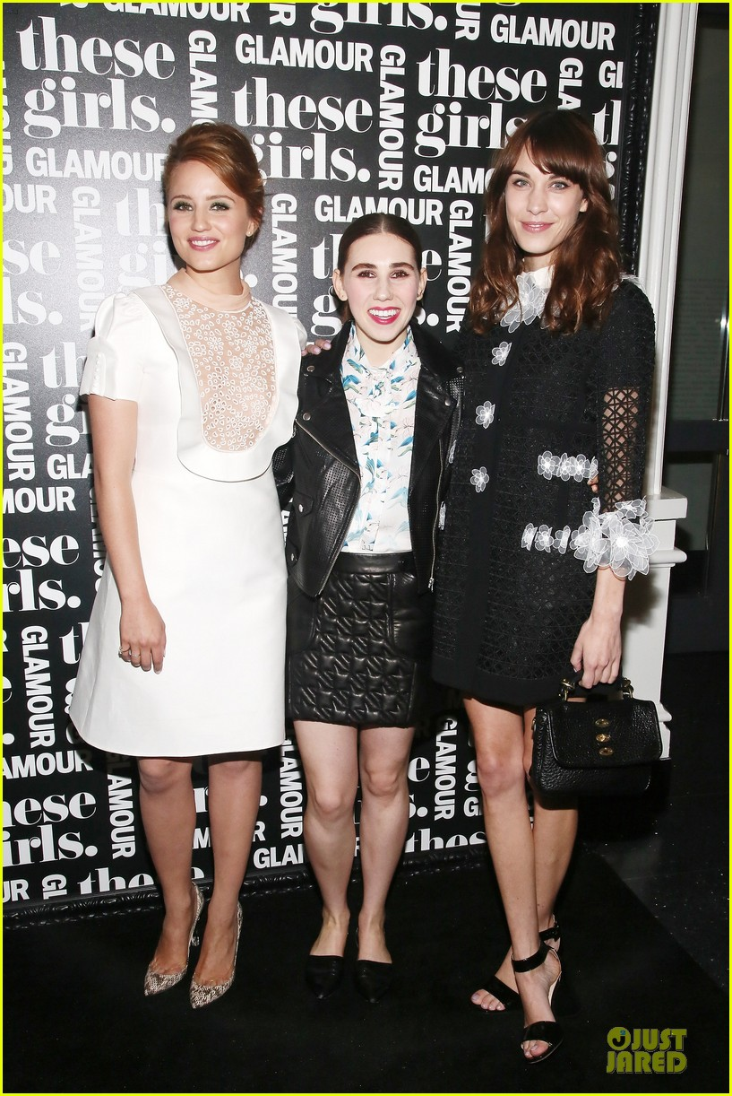 dianna agron emma roberts these girls presentation 052875207