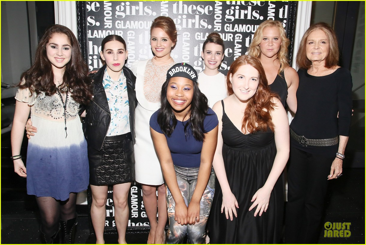 dianna agron emma roberts these girls presentation 102875212