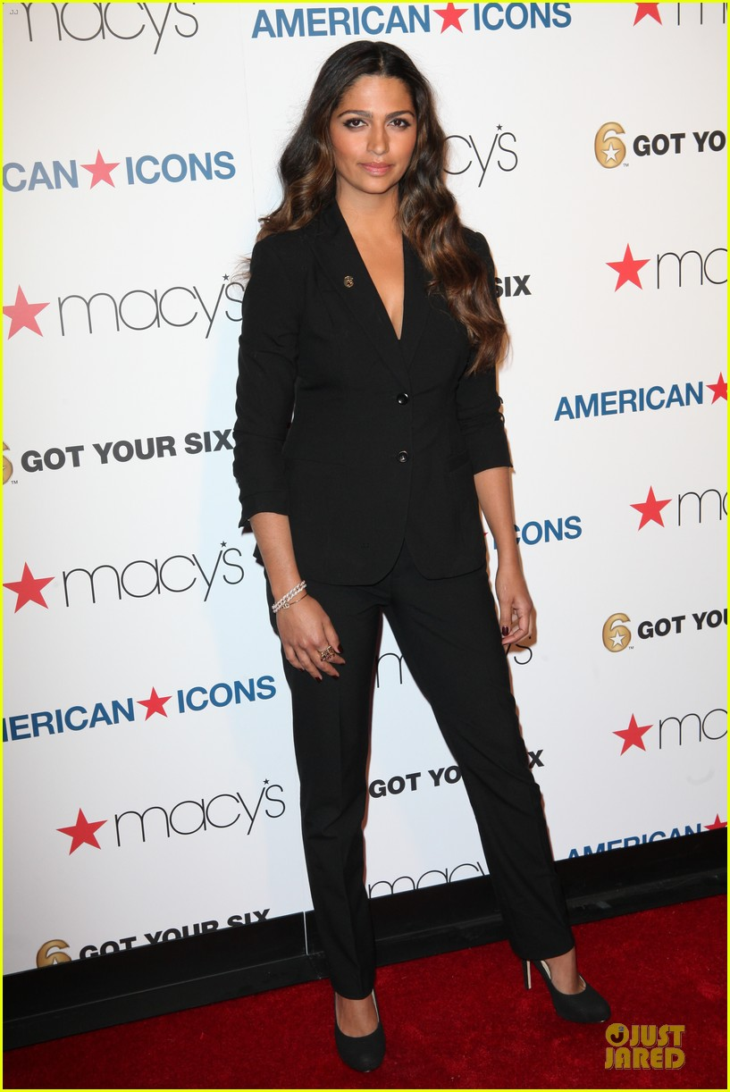 camila alves macys american icons campaign launch 012870653