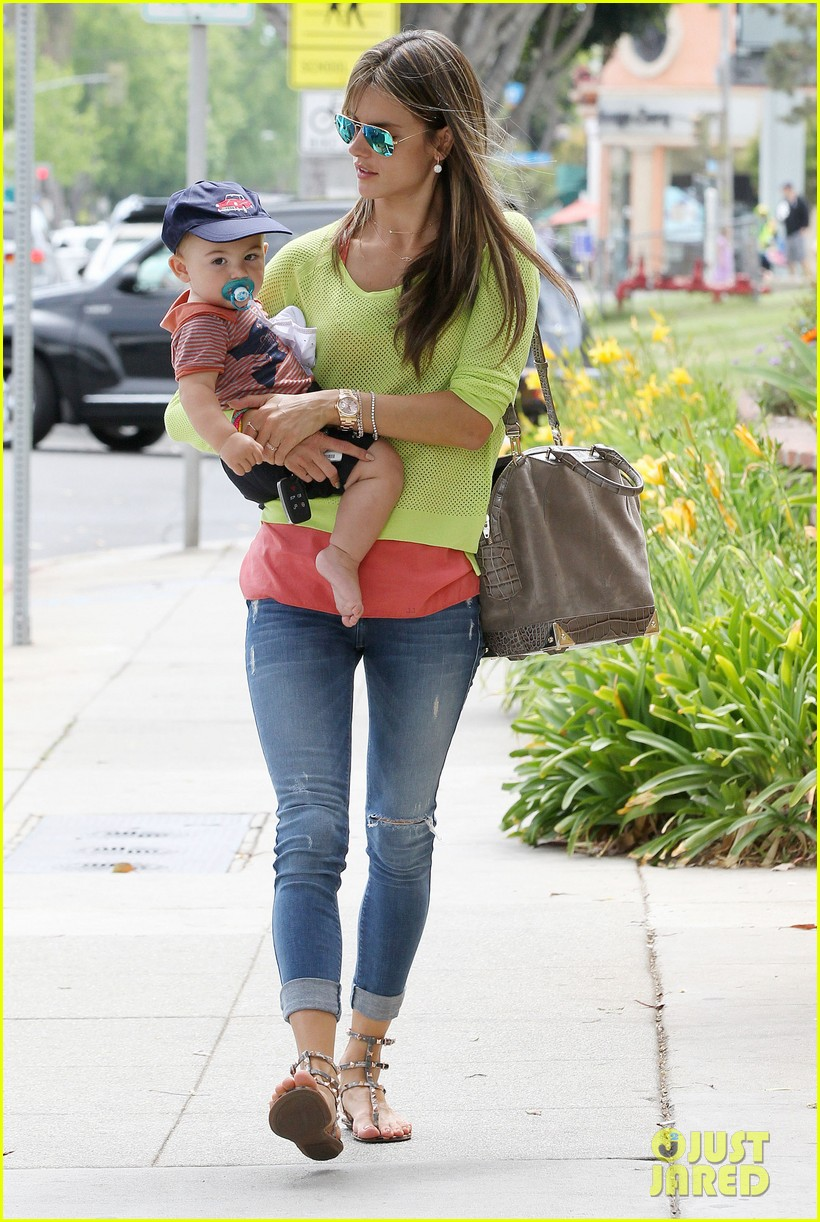 alessandra ambrosio happy early mothers day 122867930