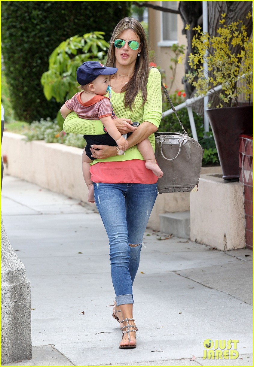 alessandra ambrosio happy early mothers day 132867931